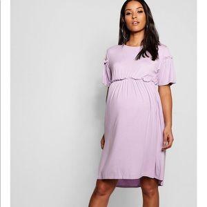 Never used lavender maternity dress! Super soft